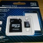 MicroSD 128Gb za 250Kč finále